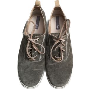 Bass Julie Ann Suede Leather Lace Up Sneaker Shoes